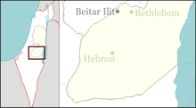 Cave of the Patriarchs is located in the West Bank
