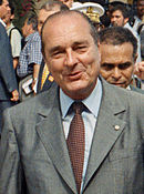 photographie de Jacques Chirac
