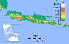 SOC is located in Java Topography