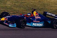 Photo de la Sauber C18 pilotée par Jean Alesi au Grand Prix du Canada 1999.