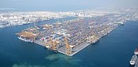 Jebel Ali Port in Dubai
