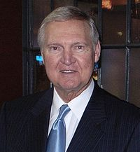 head shot of Jerry West