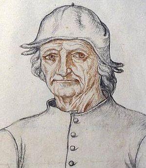 Portrait (d'après Jacques Le Boucq vers 1550).