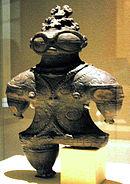 Estatuilla del periodo Jōmon final.