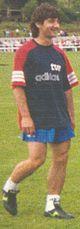 Bakero en 1994 entrenando con la Selección española