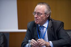 Josep Piqué, Chairman, Vueling, at the 2008 Horasis Global China Business Meeting.jpg