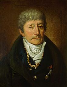 Antonio Salieri geportretteerd door Joseph Willibrod Mähler