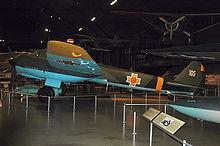 El Ju 88 D-1/Trop, Werk Nr. 430650, expuesto en el Museo de la USAF.