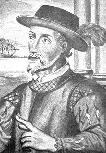 Portrait de Juan Ponce de León.