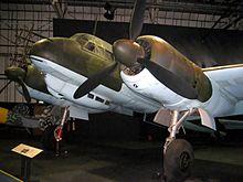 El Ju 88 R-1, Werk Nr. 360043, expuesto en el Museo de la RAF.