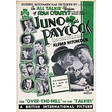 Description de l'image  Juno and the Paycock Movie Poster.jpg.