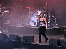 Kelly Clarkson au festival de musique Stars For Free à Berlin en Allemagne le 9 septembre 2011.