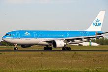 Een Airbus A330-200 van de KLM