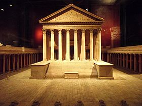 Le temple du Capitole de Cologne, début du IIesiècle