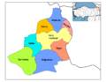 Districts of Kars