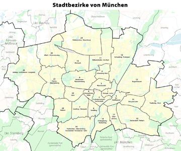 Karte der Stadtbezirke in München.png