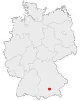 Mnichov na mapě