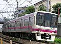 Keio-lijn op de kaart