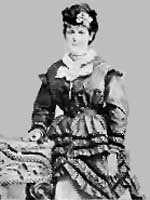 Author Helen Kendrick Johnson, poses mid 19th century.