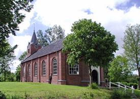 De kluiskerk te Warfhuizen