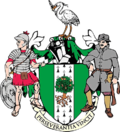 The arms of Kesteven County Council
