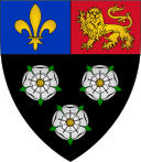 King's College heraldic shield