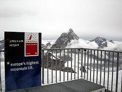 Klein Matterhorn - Zermatt - Switzerland - 2005 - 04.JPG
