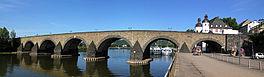 Balduinbrug over de Moezel bij Koblenz