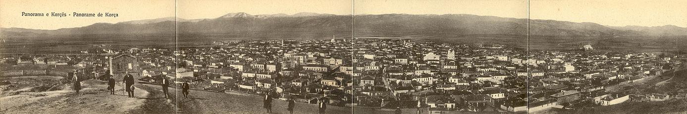 Korçe in 1914