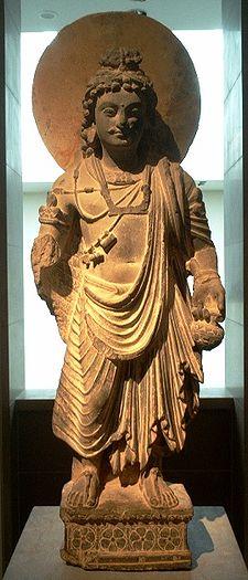 Bodhisattva Maitreya from the 2nd Century Gandharan Art Period