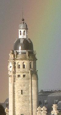 La tour de la gare