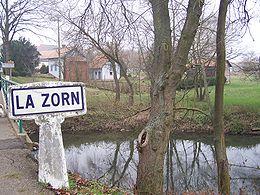 La Zorn à l'entrée de Waltenheim s/ Zorn