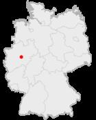 Lage der Stadt Iserlohn in Deutschland