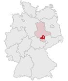 Localisation de l'arrondissement en Allemagne