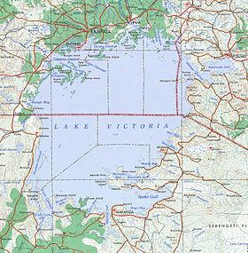 Mapa del lago (1968)