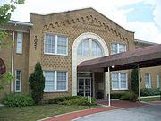 The John F. Cox Grammar School opened in 1925