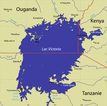 Mapa del lago