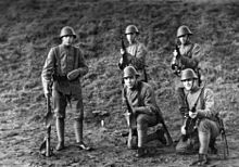 Soldiers of the Royal Netherlands Army, 1937
