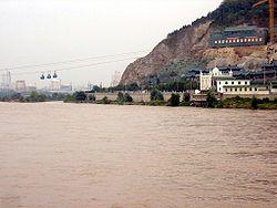 Le Huang He à Lanzhou.