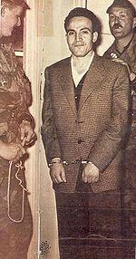 Arrestation de Larbi Ben M'Hidi (Alger, 25 février 1957).