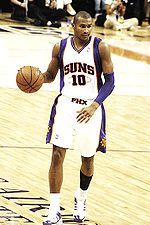 Leandro Barbosa at a game