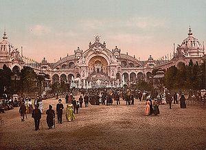 Le Chateau d'eau and plaza, Exposition Universal, 1900, Paris, France.jpg