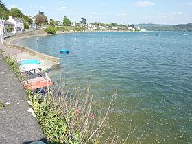 L'Anse de Camfrout sur l'estuaire de l'Élorn