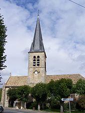 L'église Saint-Leu-et-Saint-Gilles.