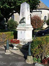 Le monument aux morts.