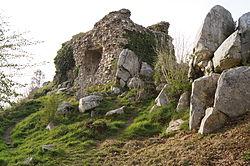Vue du château ou vigie de Lithaire.