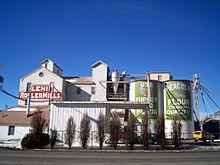 Le Lehi Roller Mills, lieu de tournage de Footloose.