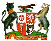 Arms of Leicestershire County Council