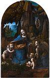 Image illustrative de l'article La Vierge aux rochers