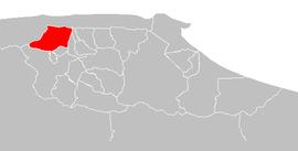 Ubicación de Municipio Libertador de Caracas